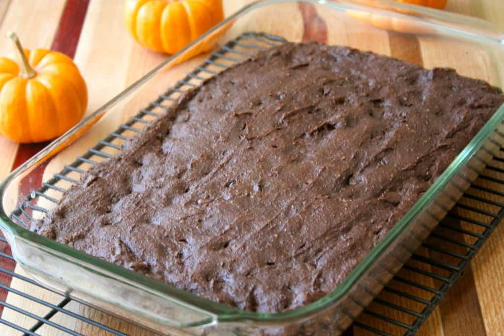 Whole Wheat Pumpkin Brownies