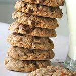 Coconut Pecan Chocolate Chip Oatmeal Cookies