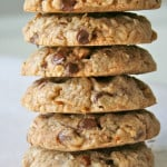 Coconut Pecan Chocolate Chip Oatmeal Cookies