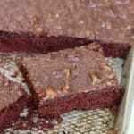 Chocolate Sheet Cake by The BakerMama