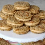 Salted Caramel Oatmeal Cream Pies