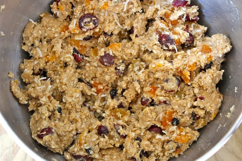 Coconut Oatmeal Cookies using coconut oil