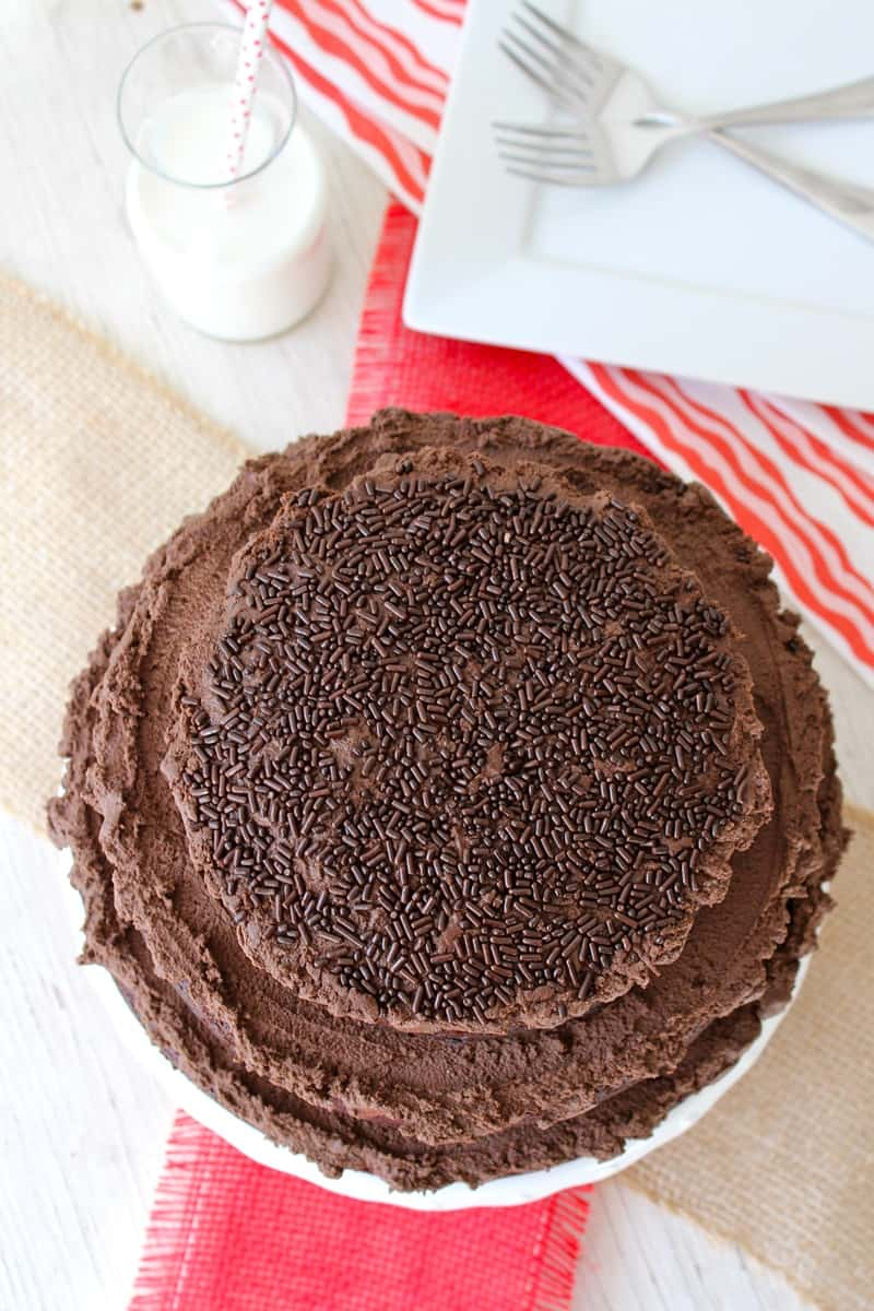 The Greatest Chocolate Cake