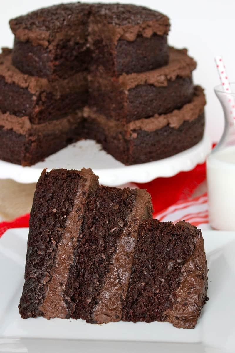 The Greatest Chocolate Cake