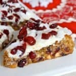 Cranberry Coconut White Chocolate Bars