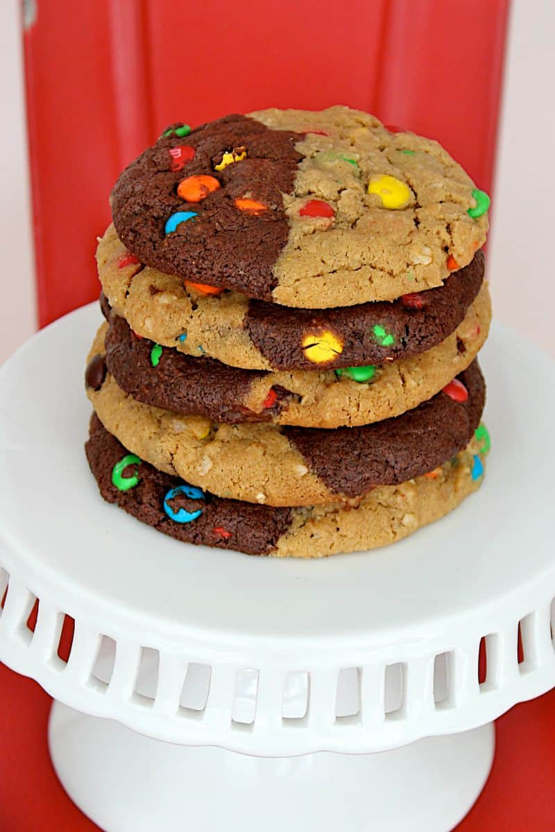 Monster Swirl Cookies