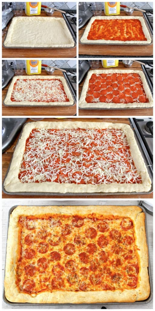 Sheet Pan Pizza