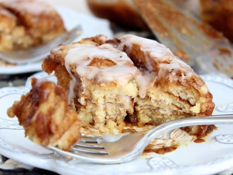 Cinnamon Roll Lasagna