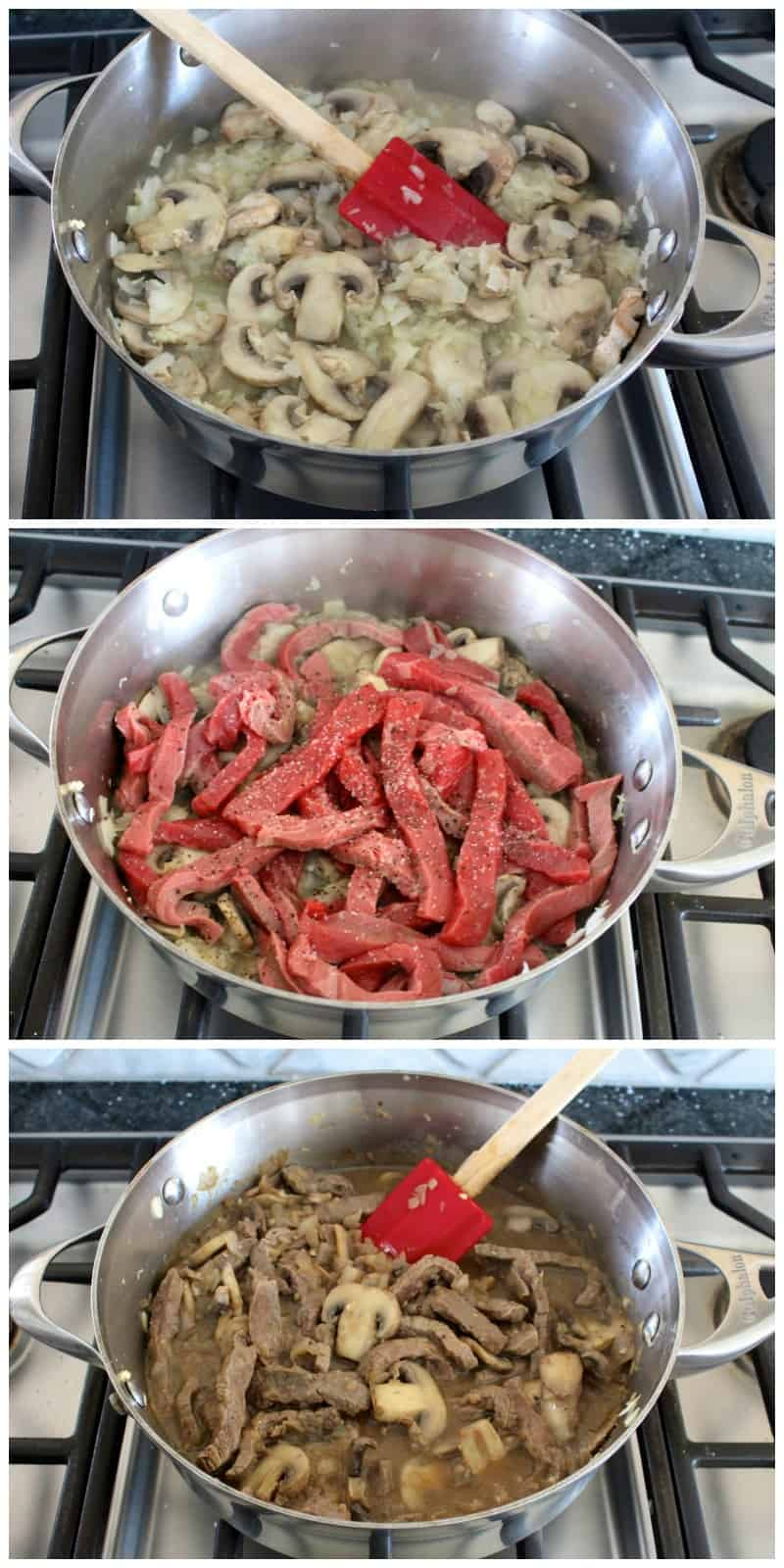 Beef Stroganoff Casserole