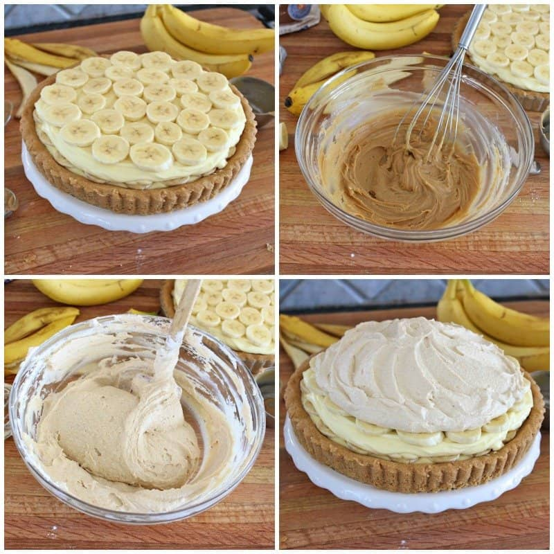 Peanut Butter Banana Cream Pie
