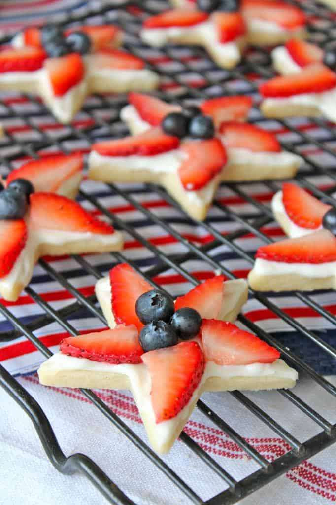 4th Of July Star Cookies The Bakermama