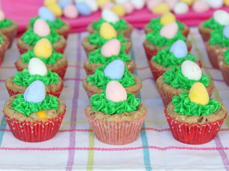 Egg Hunt Cookie Cups