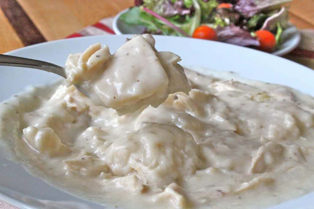 HOMESTYLE CHICKEN & DUMPLINGS