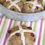 Cranberry Hot Cross Buns