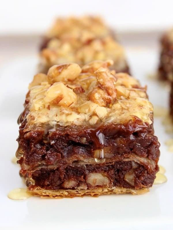 Brownie Baklava The Bakermama
