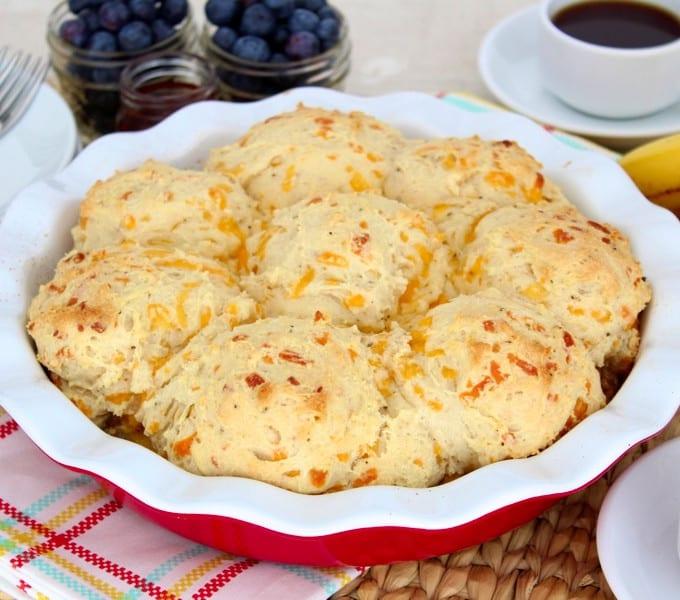 Breakfast Biscuit Pot Pie