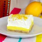 Lemon Pudding Bars