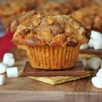S'mores Streusel Muffins