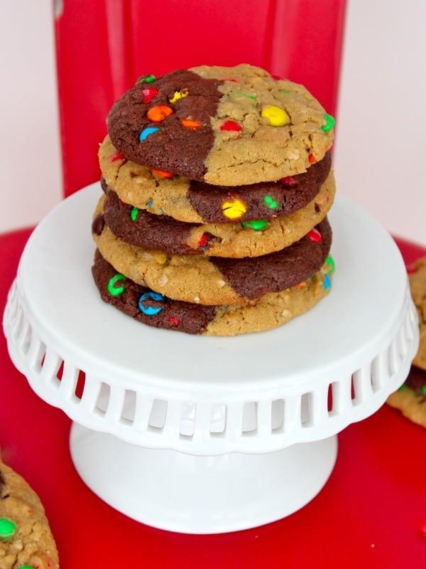 Monster Swirl Cookies