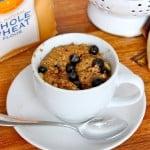 Microwave Blueberry Banana Muffin in a Mug