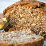 Whole Wheat Banana Oat Bread