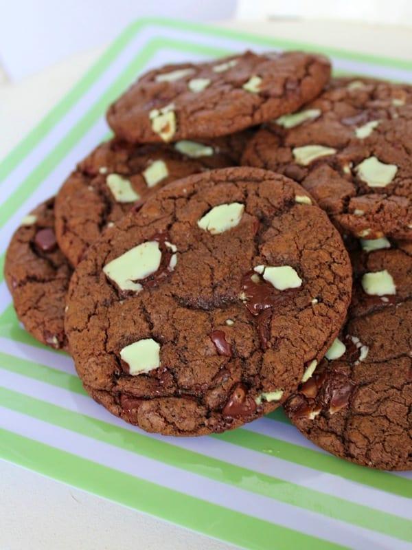 Mocha Mint Cookies