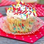 Vanilla Pudding Party Cupcakes