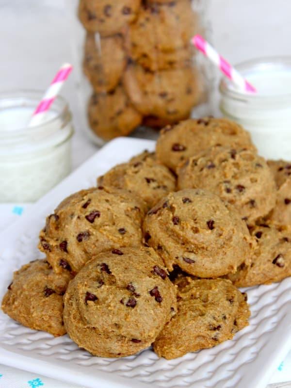 Skinny Mini Chocolate Chip Cookies