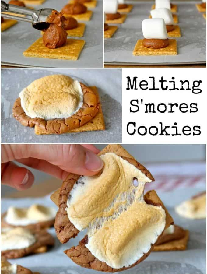 Melting S'mores Cookies