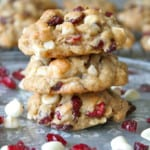 Oatmeal Cranberry White Chocolate Macadamia Chip Cookies