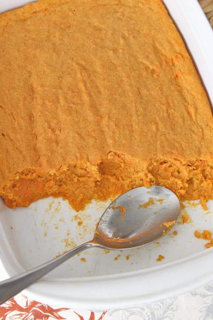 Sweet Potato Spoon Bread | The BakerMama