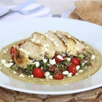 Hummus Quinoa Salad