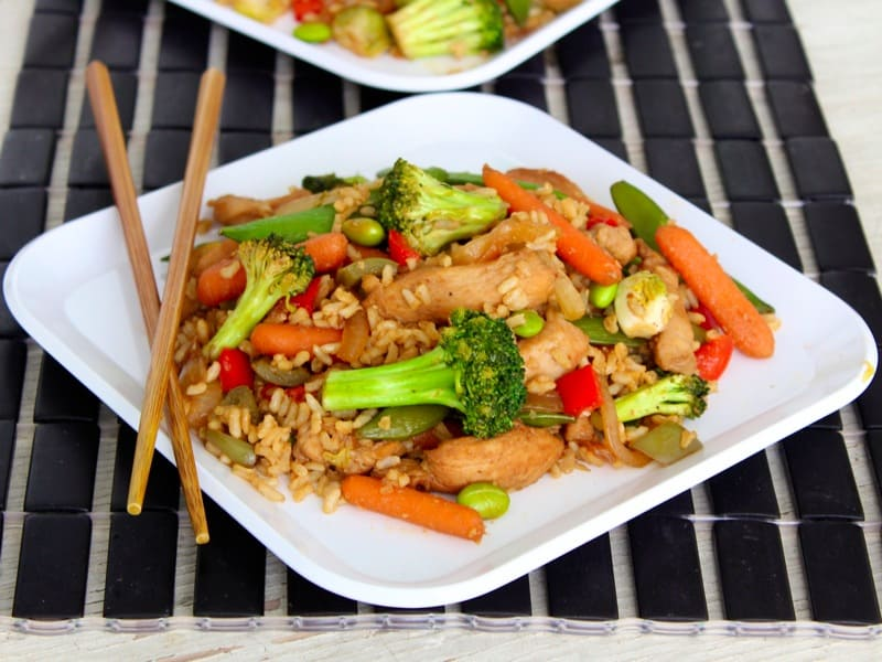 Sweet and Spicy Stir Fry