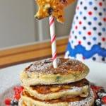 Patriotic Buttermilk Pancakes