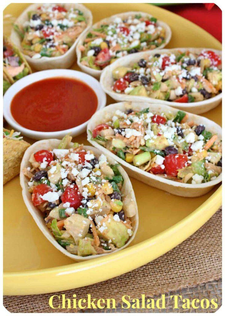 Chicken Salad Tacos