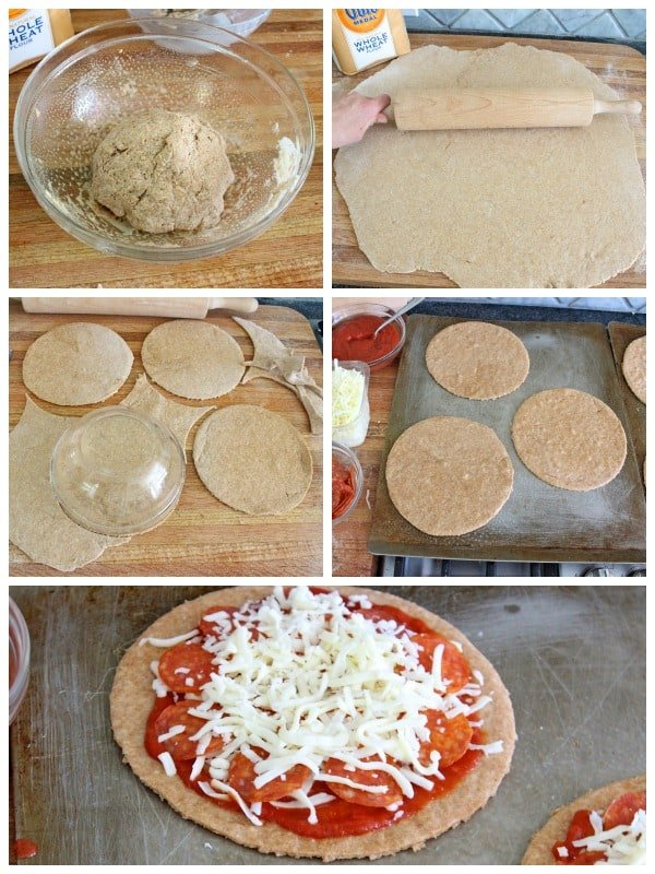 Whole Wheat Greek Yogurt Pizza Crust