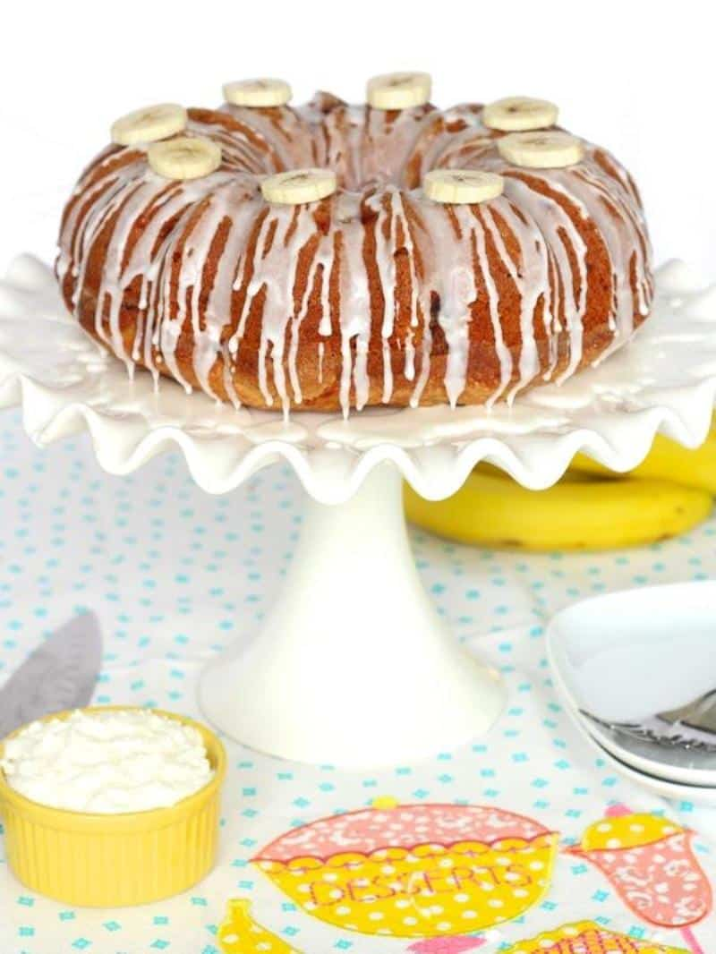 Banana Pudding Pound Cake