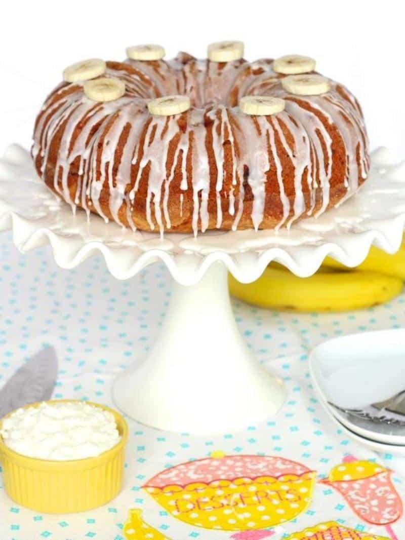Banana Pudding Pound Cake