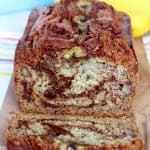 Cinnamon Swirled Banana Bread