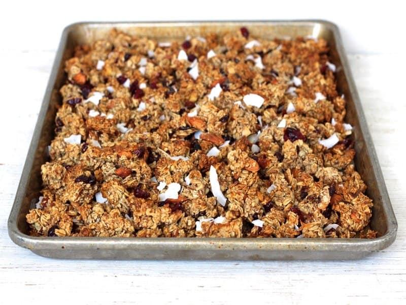 Homemade Chunky Granola