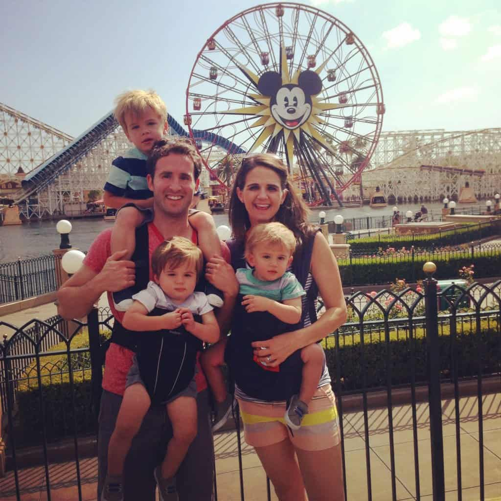 California Adventure with Toddlers