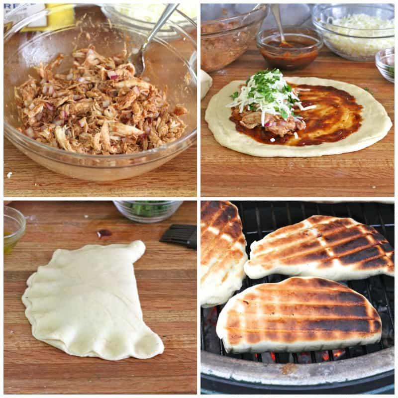 Fun Bbq Recipes: Grilled BBQ Chicken Calzones