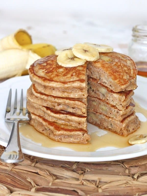 all, these pancakes are perfect in every way! They're healthy ...