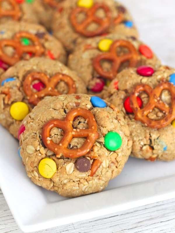 Monster Pretzel Cookies