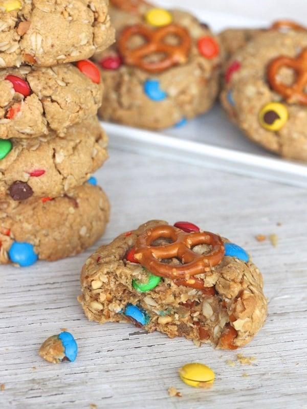 Monster Pretzel Cookies