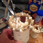Homemade S'mores Blizzards