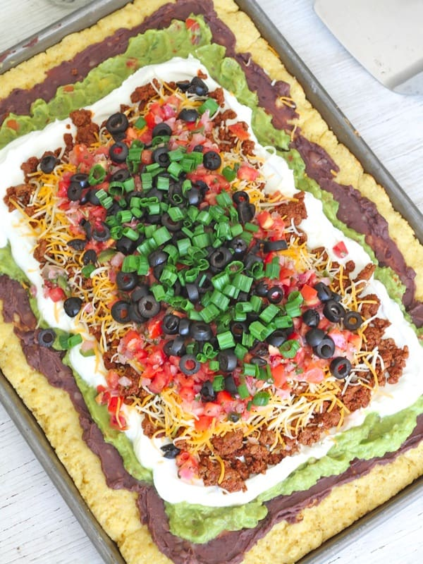 layer dip healthy 7 layer dip seven layer dip with cashew 7 layer ...