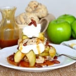 Caramel Apple Pecan Shortcakes