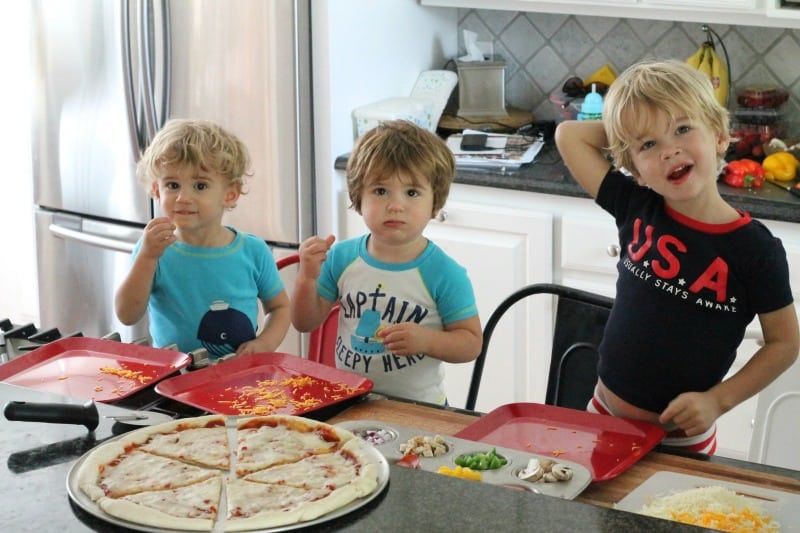 Create Your Own Slice Family Pizza Night