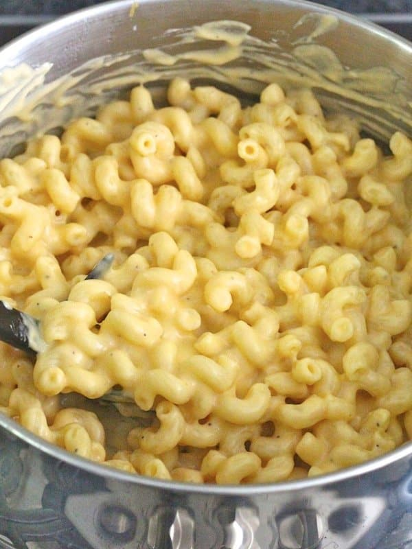 Stovetop Macaroni and Cheese